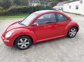 Volkswagen Beetle, 2007 (07) Red Hatchback, Manual Petrol, 97,000 miles