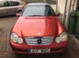 Mercedes C180, 2002 (52), Automatic Petrol, 173,000 miles
