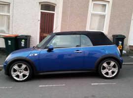 Mini MINI, 2006 (06) Blue Convertible, Manual Petrol, 100,000 miles