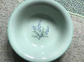 Rare, Spode fruit bowl 1949/50's. Flemish green Jacinth pattern