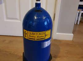 Newly tested full 9L 207bar bottle