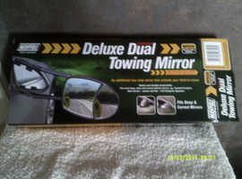 Pair of Deluxe  Dual Towing Mirrors