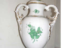 Vase - Hand painted Herend chinese bouquet