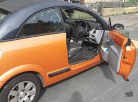 Citroen C3, 2006 (56) Orange Convertible, Automatic Petrol, 87,000 miles