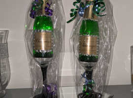 Glitter Glass with Charlemagne