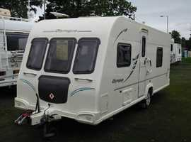 4 Berth Tourer with Rear Washroom and Two Living Areas