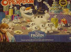 Brand New: Disney Frozen Operation Game
