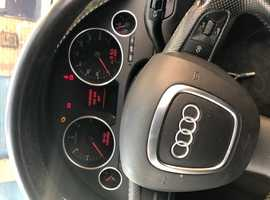 Audi A4, 2006 (06) Blue Convertible, Manual Diesel, 111,690 miles