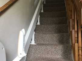 ACORN STAIRLIFT CURVED. Almost new.