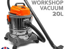 Wet and Dry Vacuum Cleaner Hoover with Blower 20L 1200W for Workshop professional cleaner
