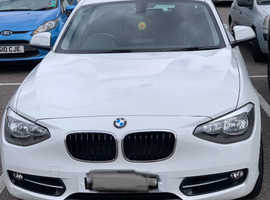 BMW 1 series, 2013 (63) White Hatchback, Manual Diesel, 60,000 miles