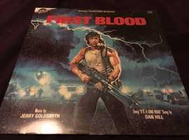 RARE - First Blood - Soundtrack - on VINYL