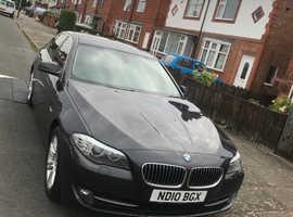 BMW 5 Series, 2010 (10) Grey Saloon, Manual Diesel, 132,056 miles