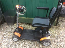 TGA ECLIPSE portable mobility scooter.