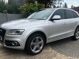 Audi Q5, 2013 (13) Silver Estate, Automatic Diesel, 105,634 miles