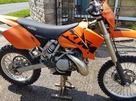 KTM 300EXC little used 3300miles 125hrs fully road legal