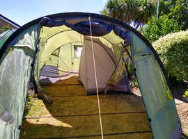 large 6 berth family tent