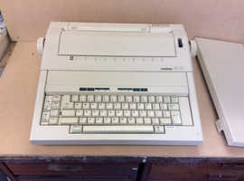 Fully working electric typewriter fully