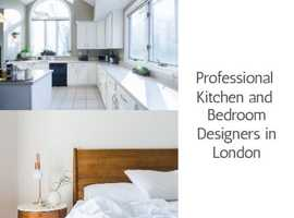 Professional Kitchen and Bedroom Designers in London