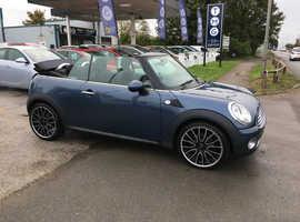 Mini MINI, 2010 (59) Blue Convertible, Manual Petrol, 60,000 miles