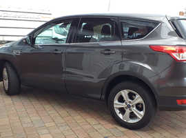 Ford Kuga, 2016 (16) Grey Hatchback, Manual Diesel, 39,000 miles