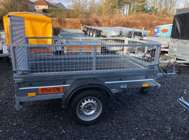 BRAND NEW 6x4 TRAILER WITH 40CM MESH AND A 100CM RAMP 40CM