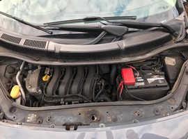 Renault Megane, 2007 (57) Grey MPV, Automatic Petrol, 94,530 miles