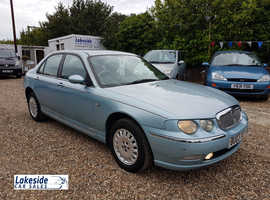 Rover 75 Connoisseur 2.5 Litre Petrol / Manual, Only 54,000 Miles, New MOT With No Advisories.