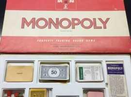 4x vintage board games (CHEAP)