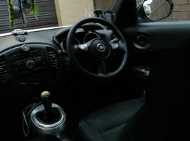 Nissan Juke, 2013 (62) White Hatchback, Manual Petrol, 73,000 miles