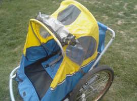Twin bike traiker