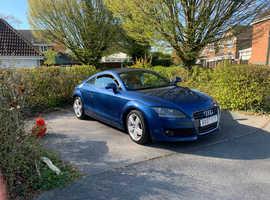 Audi TT, 2007 (07) Blue Coupe, Manual Petrol, 129,838 miles