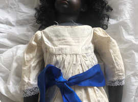 Love black doll 3ft ht around 100years old