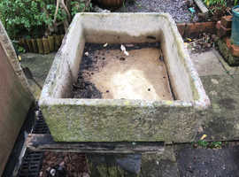 Amazing stone sink planter