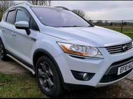 Ford Kuga, 2010 (10) White Estate, Manual Diesel, 126,000 miles