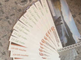 £200 camping and caravan club vouchers