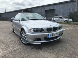 BMW 3 Series, 2001 (Y) Silver Coupe, Manual Petrol, 160,469 miles