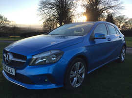 Mercedes A-CLASS, 2016 (16) Blue Hatchback, Manual Diesel, 21,898 miles