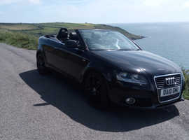 Audi A3, 2010 (10) Black Convertible, Manual Diesel, 86,000 miles