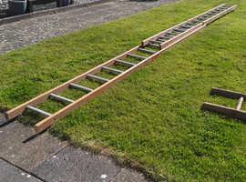12 ft extending ladder