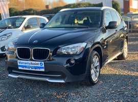 BMW X1, 2011 (11) Black Estate, Manual Diesel, 110,000 miles