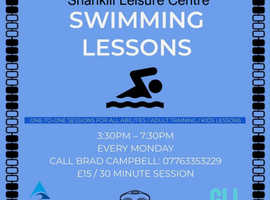 One to One Swimming Lessons Belfast