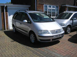 (05-06) VW SHARAN 1.9 TDI (130) SE MET/SILVER 7 SEATER (ONE OWNER SERVICE HISTORY ABSOLUTELY IMMACULATE CONDITION)