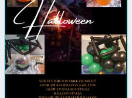 Halloween Balloon Displays