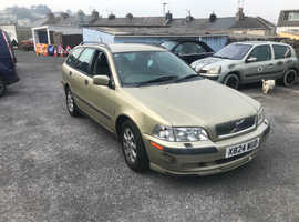 Volvo S/V40 SERIES, 2001 (X) Beige Estate, Manual Petrol, 104,000 miles