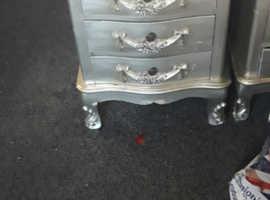 2 dunelm bedside cabinets