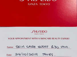 Shiseido Event at John Lewis Milton Keynes