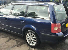 Volkswagen Passat, 2005 (55) Blue Estate, Manual Diesel, 217,000 miles