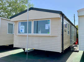 2019 Willerby Seasons Caravan, 3 bed/8 berth, 2x toilets, Gas central heating. Haven Quay West