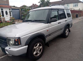 Land Rover Discovery, 2003 (03) silver estate, Manual Diesel, 148,274 miles
